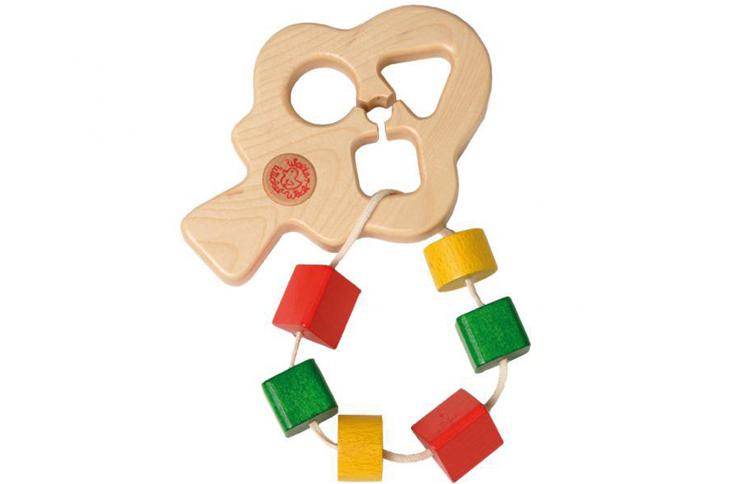 木のおもちゃ Walter 型はめの木(Steckbaum)