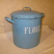 FLOUR缶 水色
